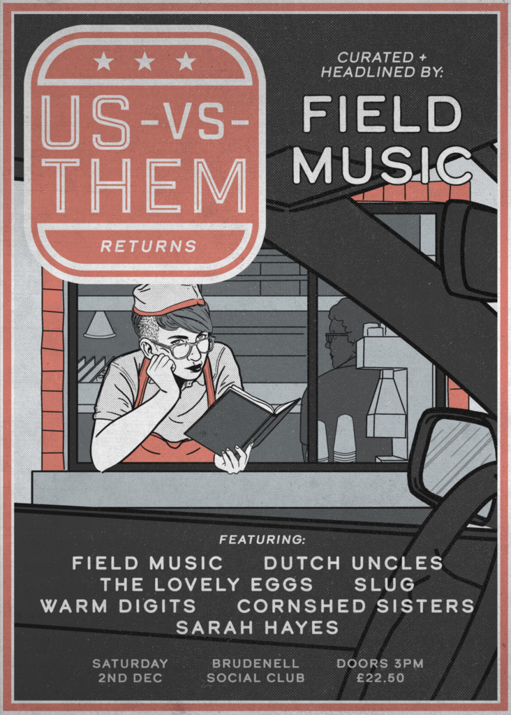 us vs them 2 Field Music 1